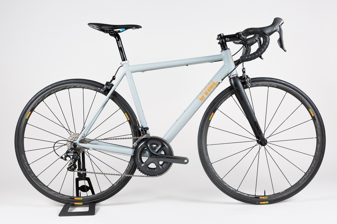 Side profile shot of the Uniqlo + Blacksmith giveaway contest bike