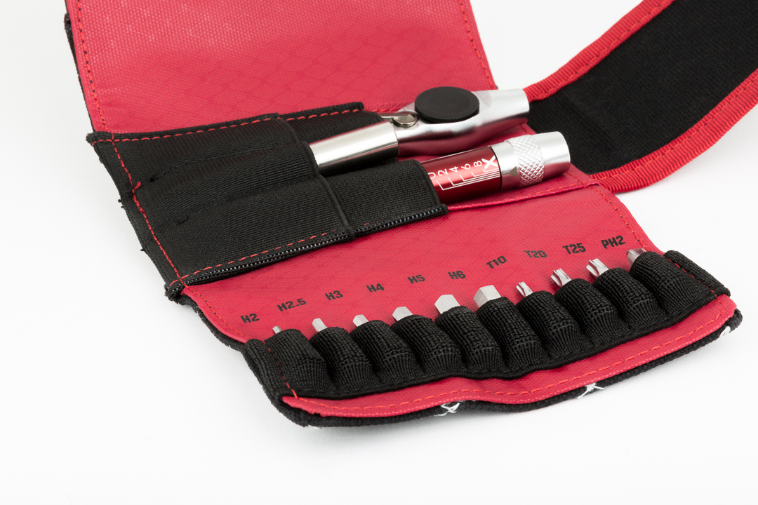 The Silc T-Ratchet & Ti-Torque and included carrying case. A bit bulky but includes everything you need.
