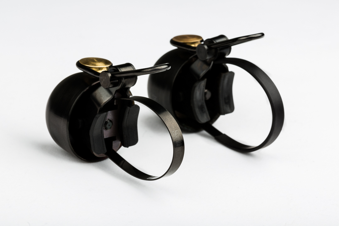 The before and after Spurcycle Bells are almost indistinguishable.