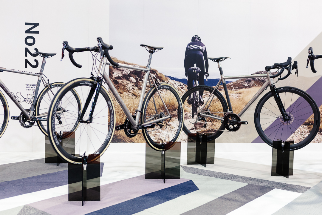 The No. 22 booth at the Toronto International Spring Bike Show brought a lot of lust.