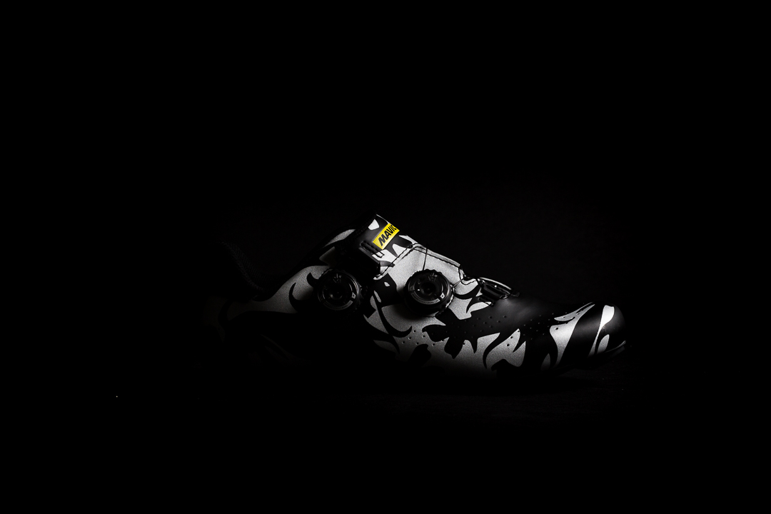 The flourished design of the Mavic Cosmic Pro LTD incorporates lions as a nod to 3 time race winner, Johan Museeuw