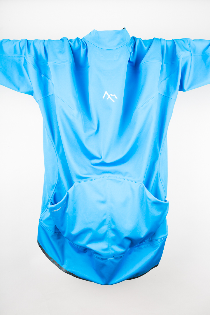 One of the defining technical features of the 7mesh Corsa Softshell Jersey are the two large rear pockets
