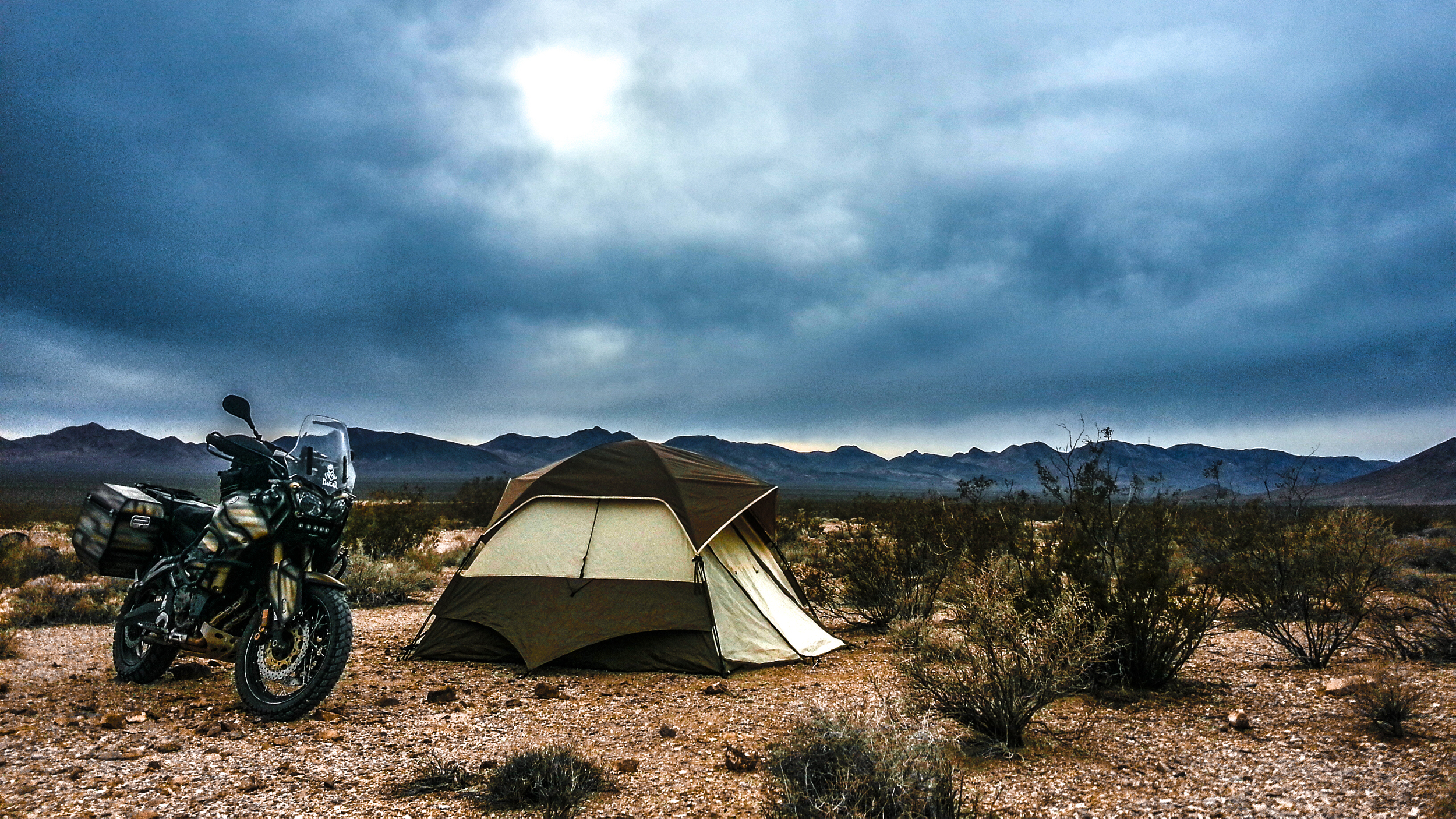 Deep in the Nevada deserts in the lap of luxury......................