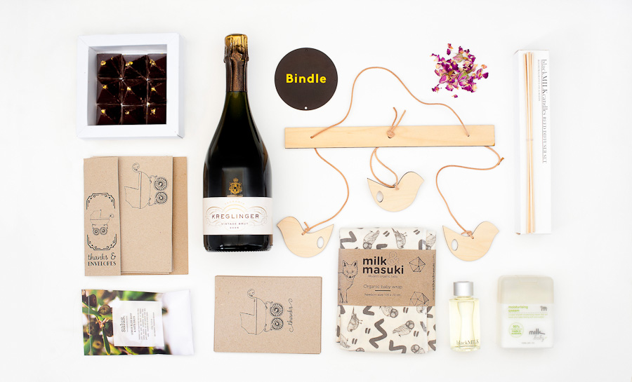 "The ""And Baby Makes - One More"" Bindle package, available online."