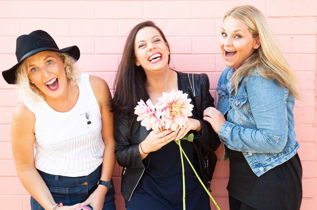Adelle, Rach and Kristy - powerhouse ladies on a mission to change the world!