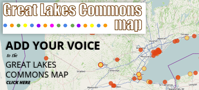 Great Lakes Commons Map