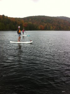 Field Trip Paddle Boarding on Meech Lake, Oct 4 2014 - 29