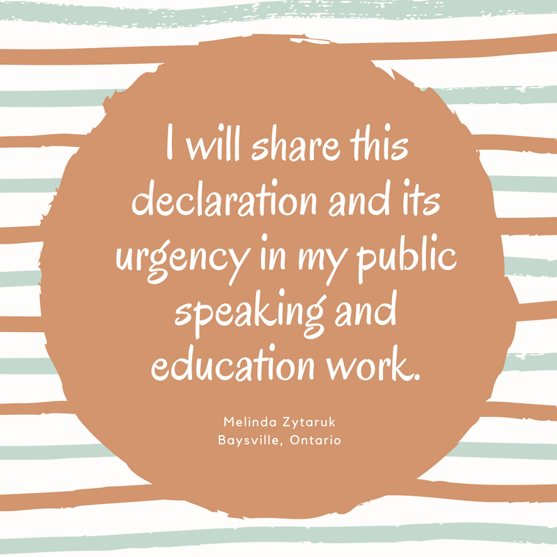 SHare this declaration and urgency in my public speaking and education.png