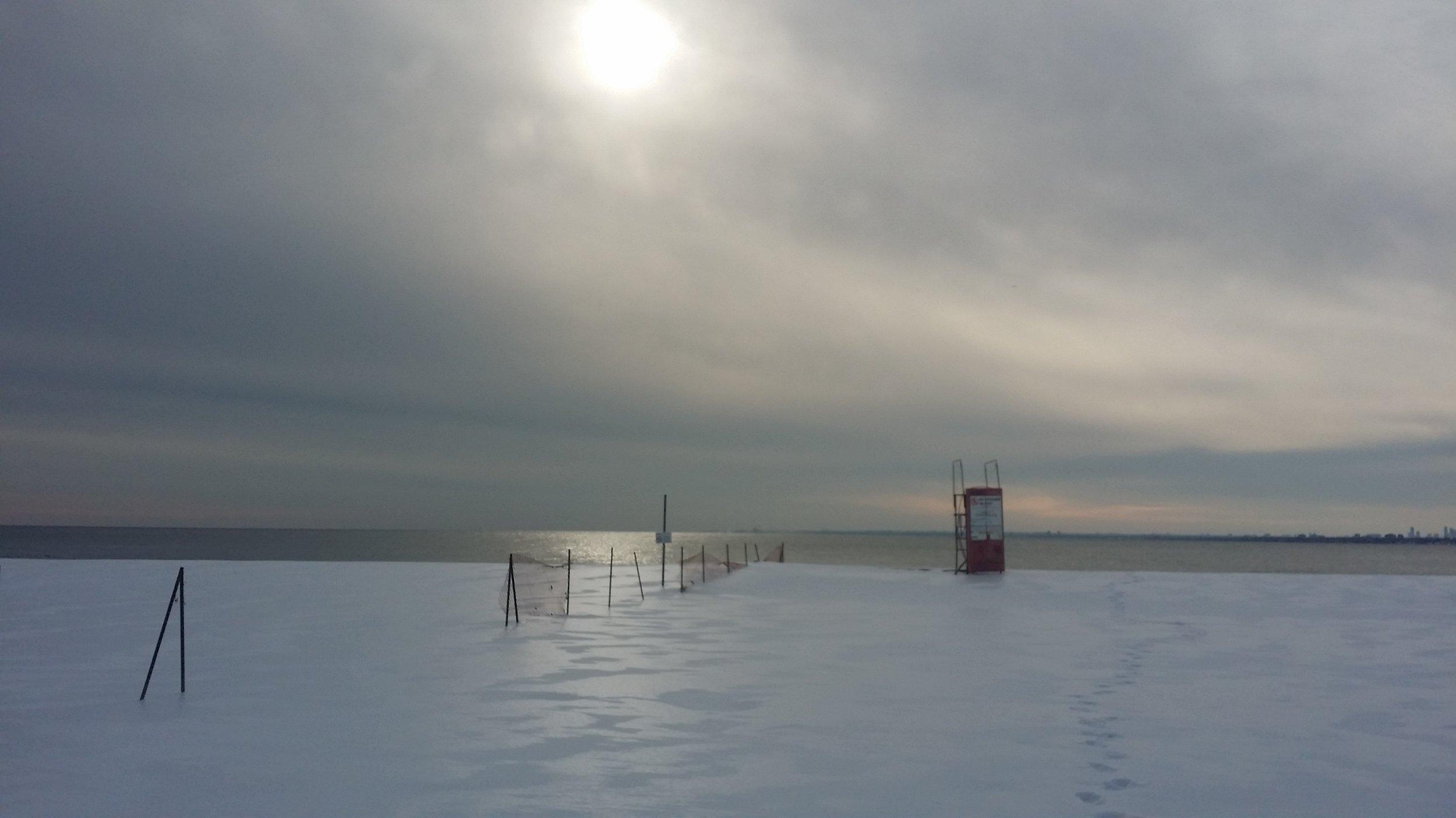 Toronto Island, February 2018, by Paul Baines