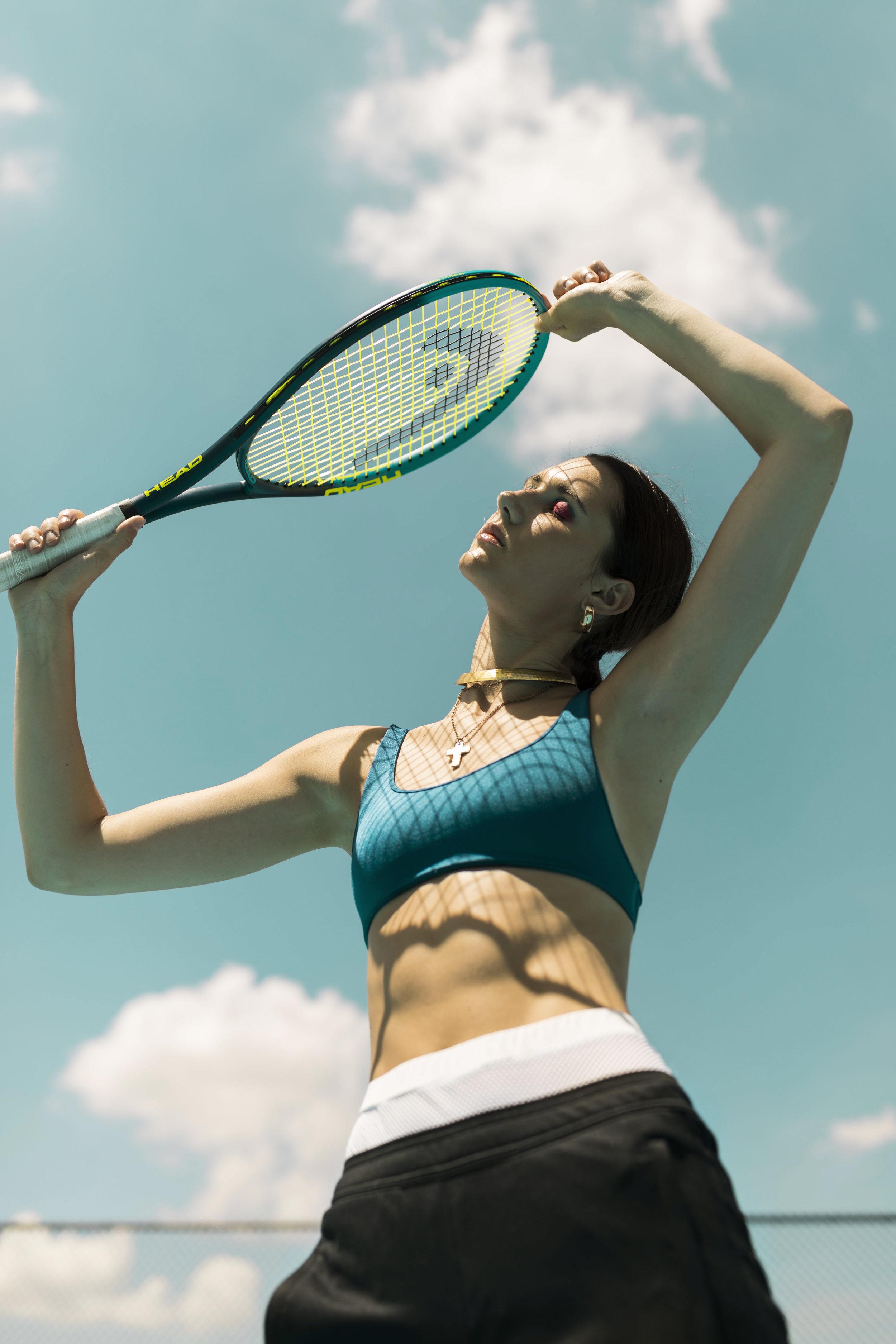 Retro Athleisure, Volant Magazine, Editorial, Ashley Gallerani Photography