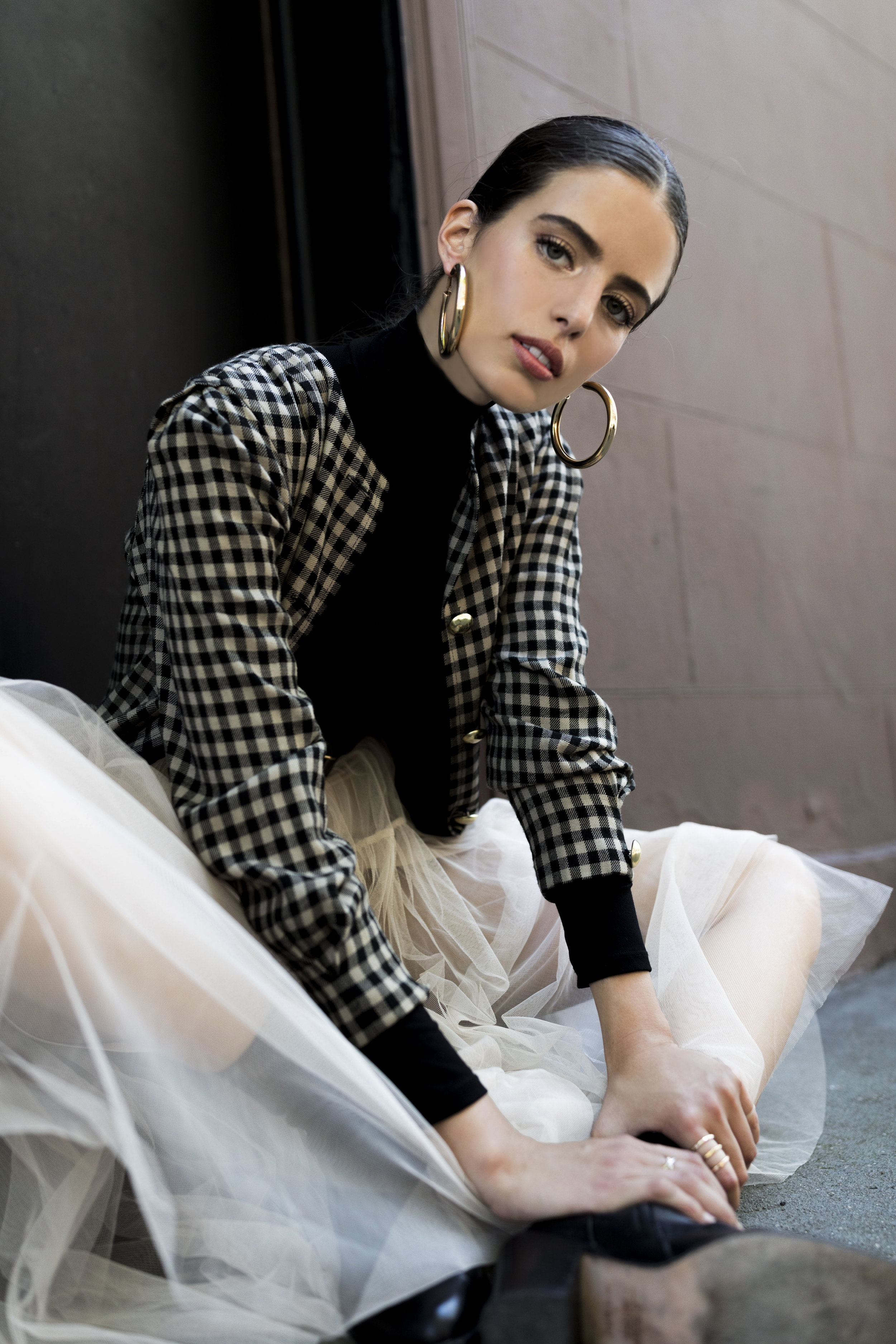 Downtown Chiffon, LYUN Magazine, Editorial, Ashley Gallerani Photography