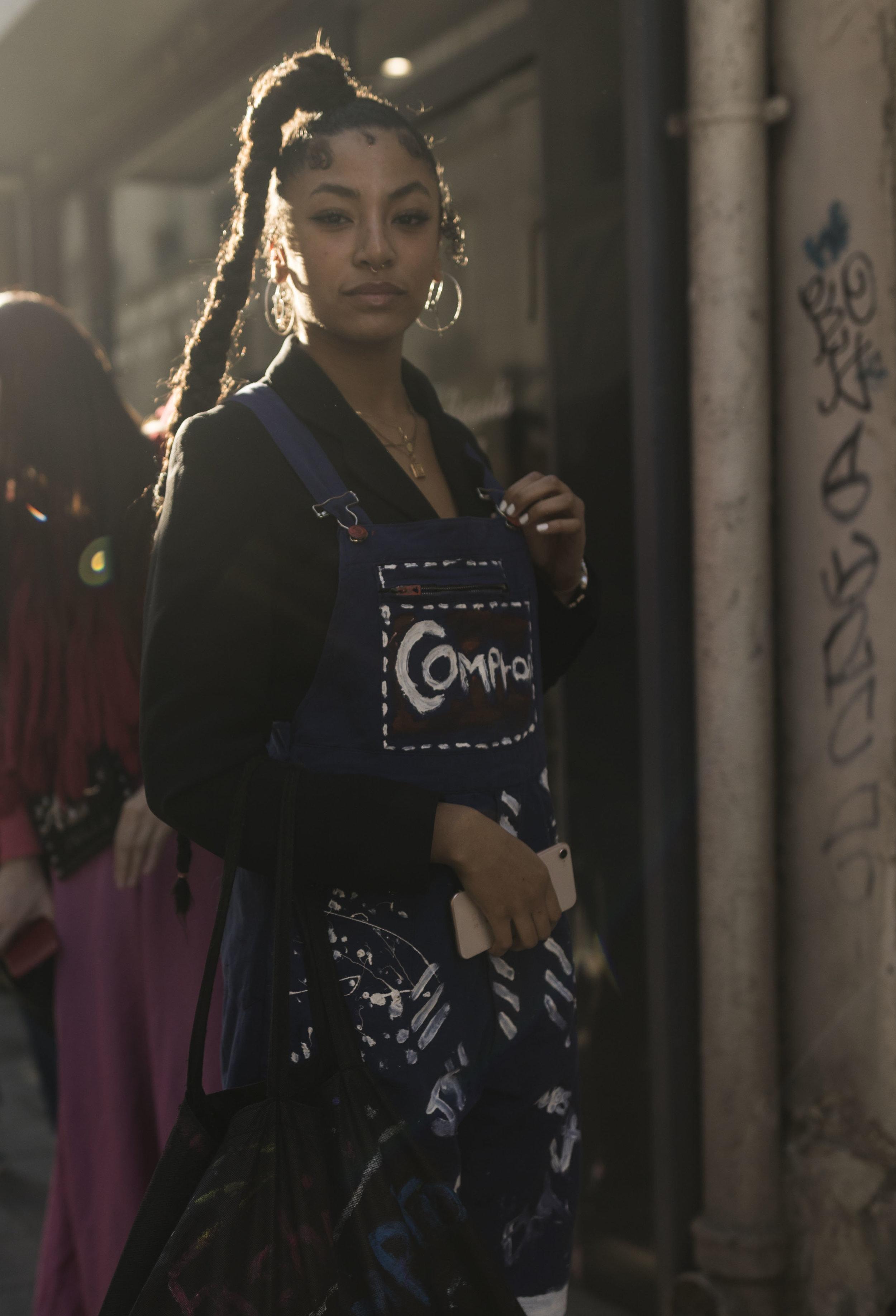 PFW, Paris, Street Style, Anrealage, Ashley Gallerani Photography