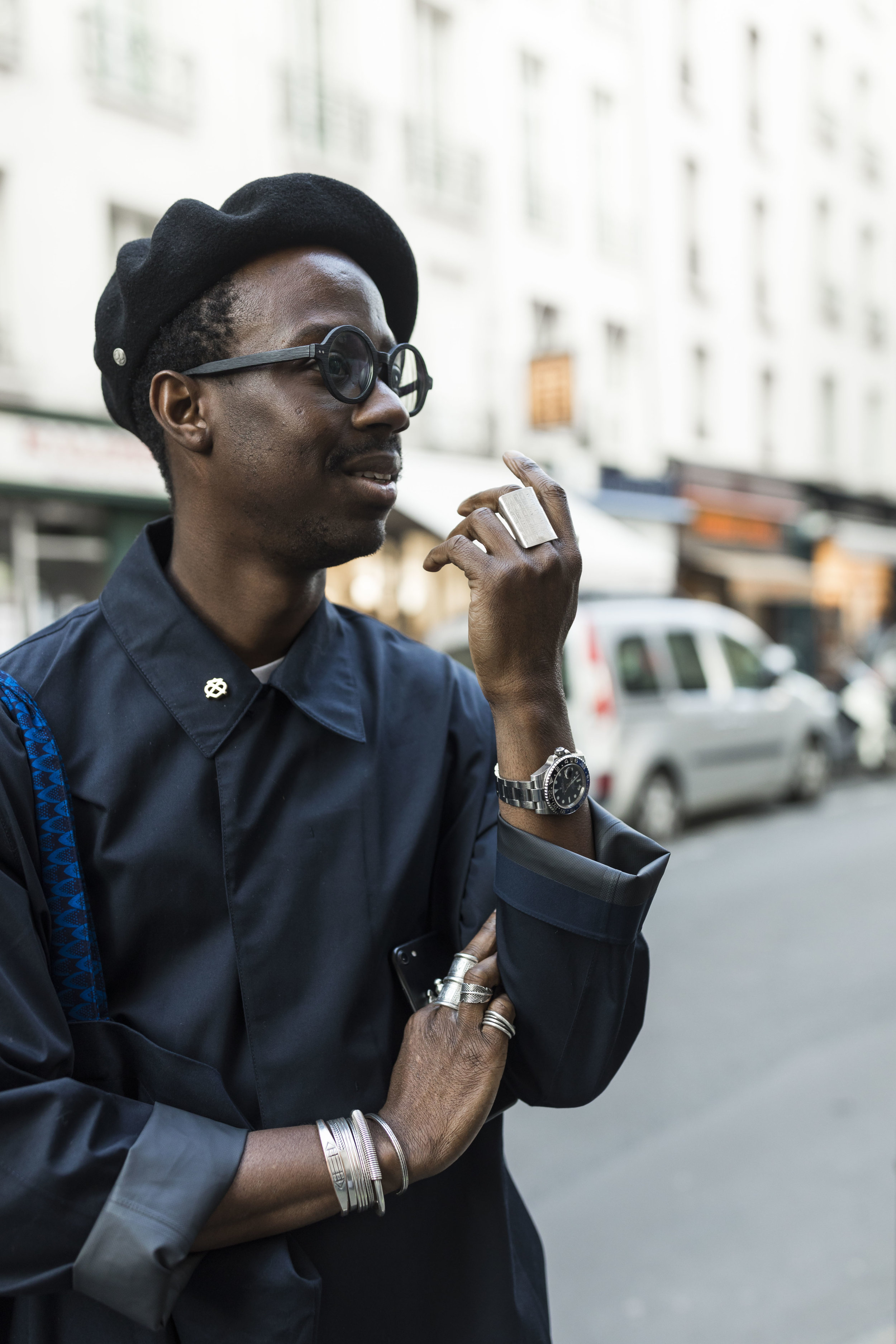 PFW, Paris, Street Style, Loewe, Luis Buchinho, Ashley Gallerani Photography