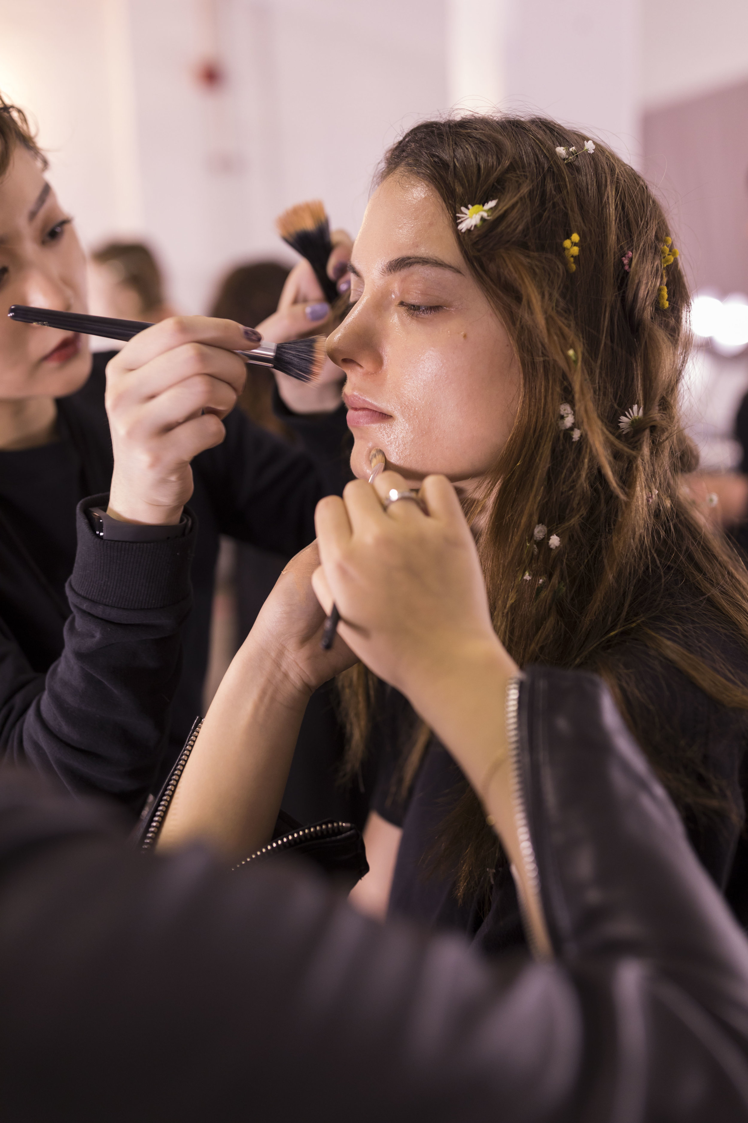 NYFW, NYC, Runway, Lanyu, Backstage, Ashley Gallerani Photography