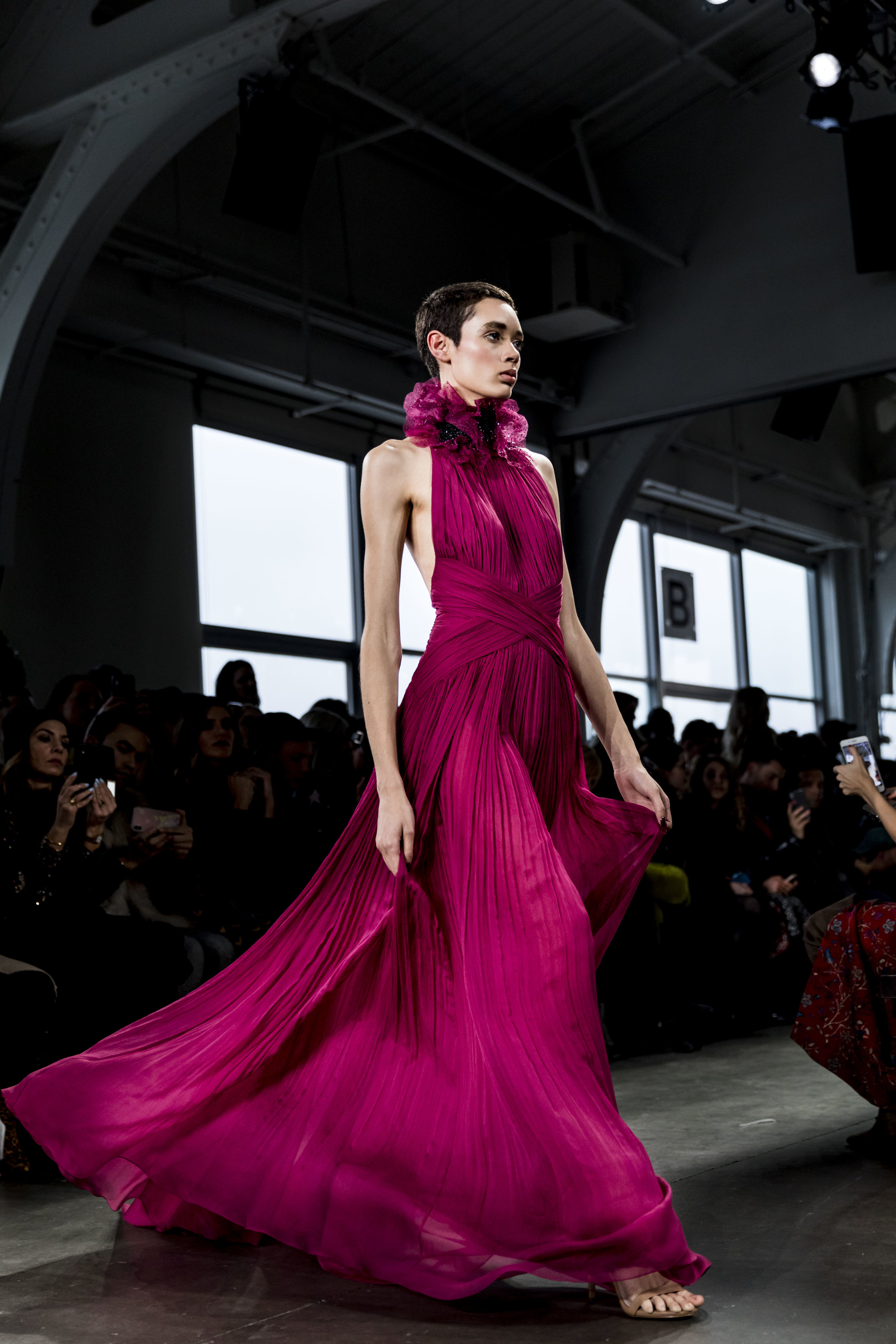 NYFW, NYC, Runway, Pamella Roland, Ashley Gallerani Photography