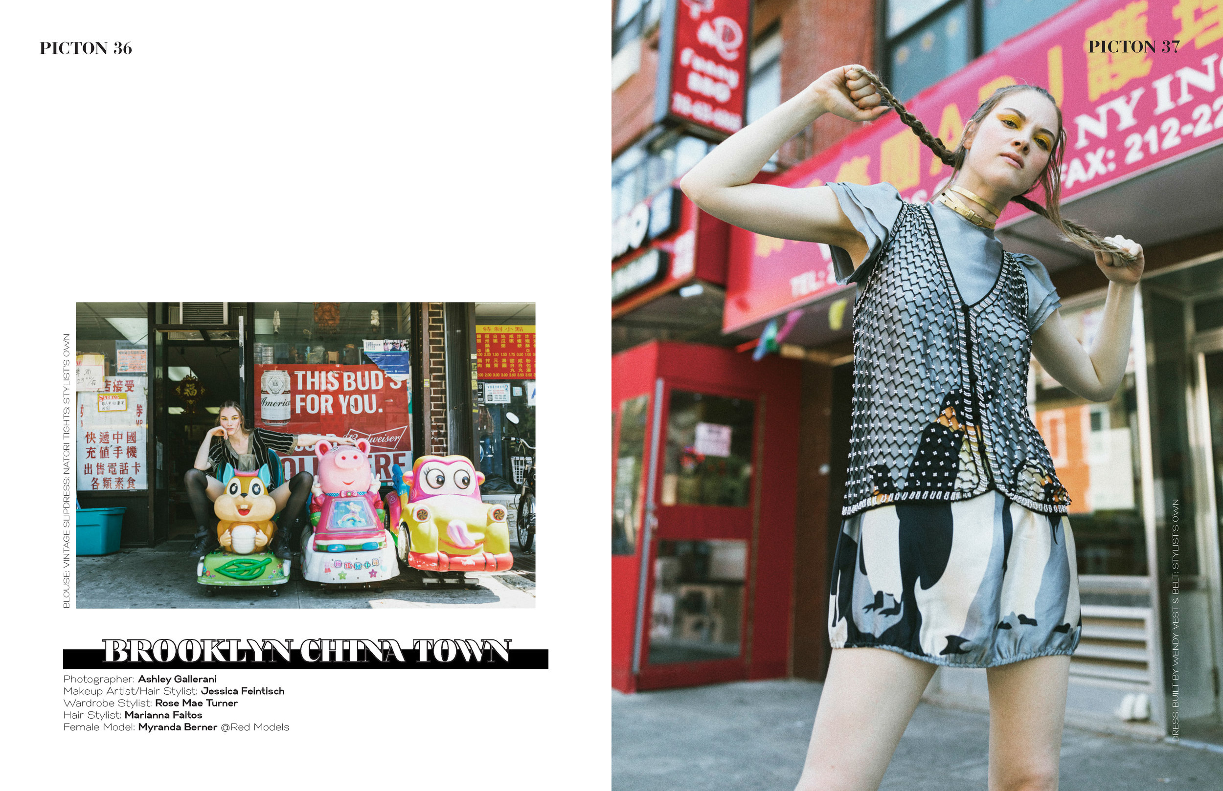 BROOKLYN CHINATOWN  EDITORIAL FOR PICTON MAGAZINE