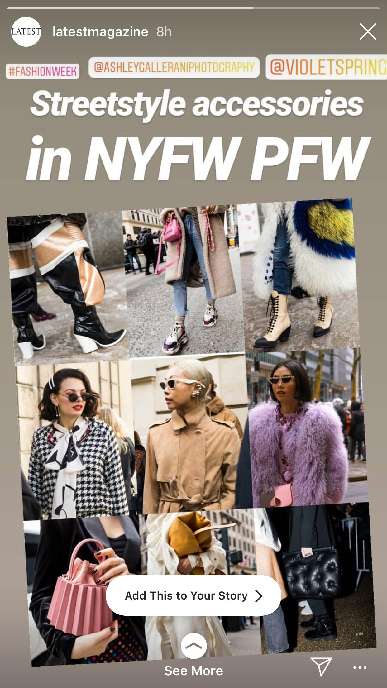 NYFW+PFW FW19 COVERAGE FOR LATEST MAGAZINE