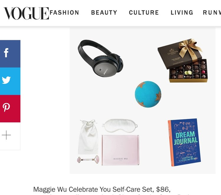 MAGGIE WU STUDIO PRODUCT SHOTS FEATURED IN VOGUE