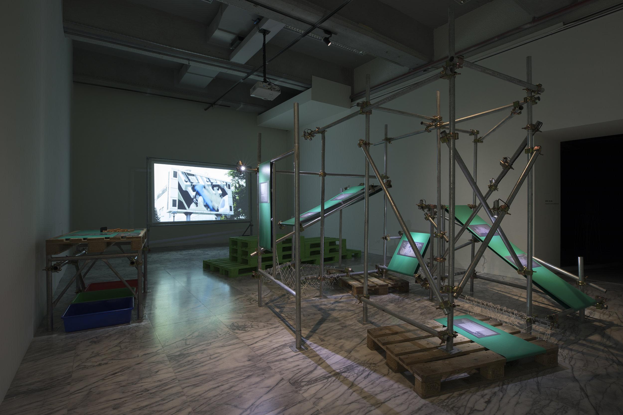 installed @ Taipei Fine Arts Museum