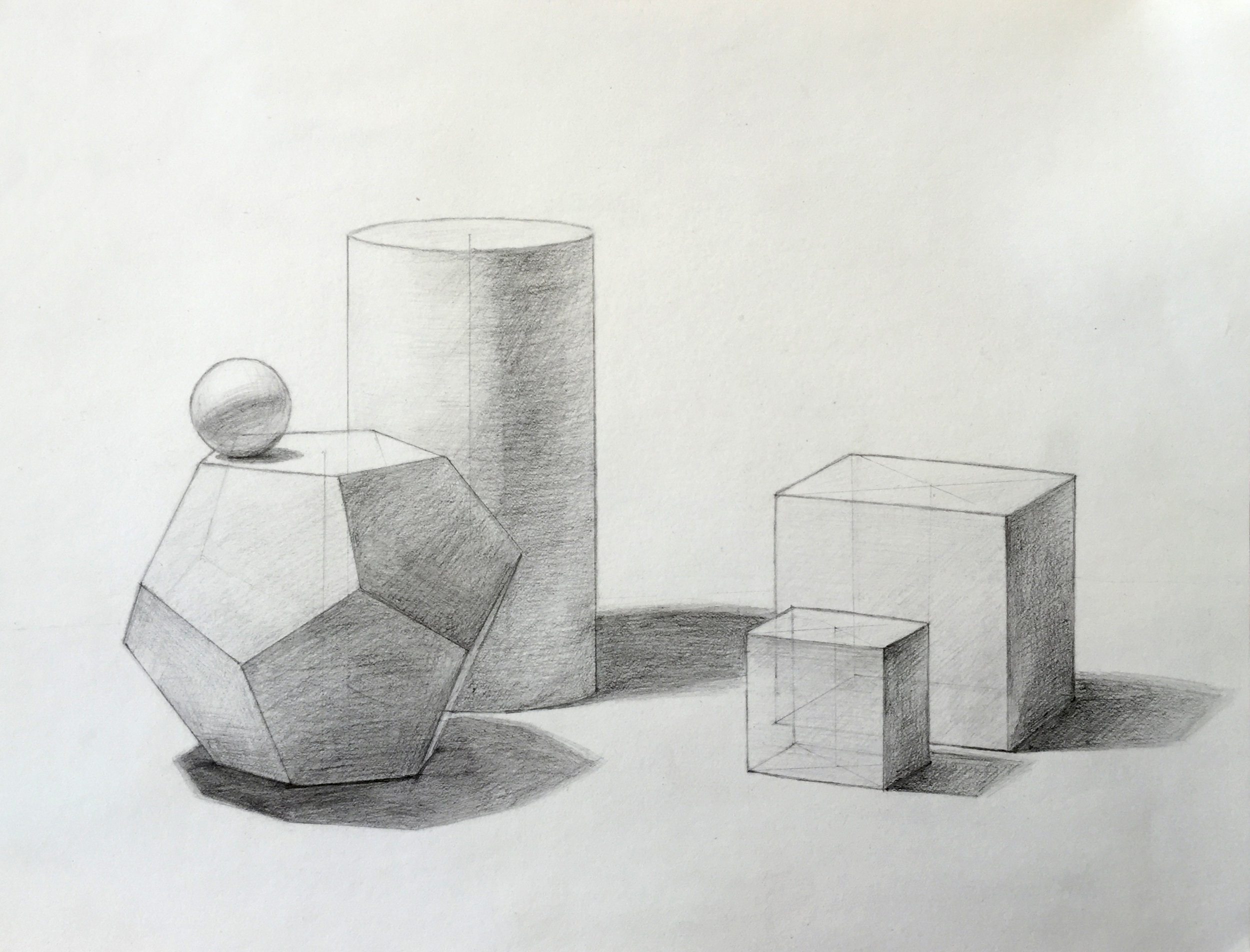 Observational Study - Geometric Solids
