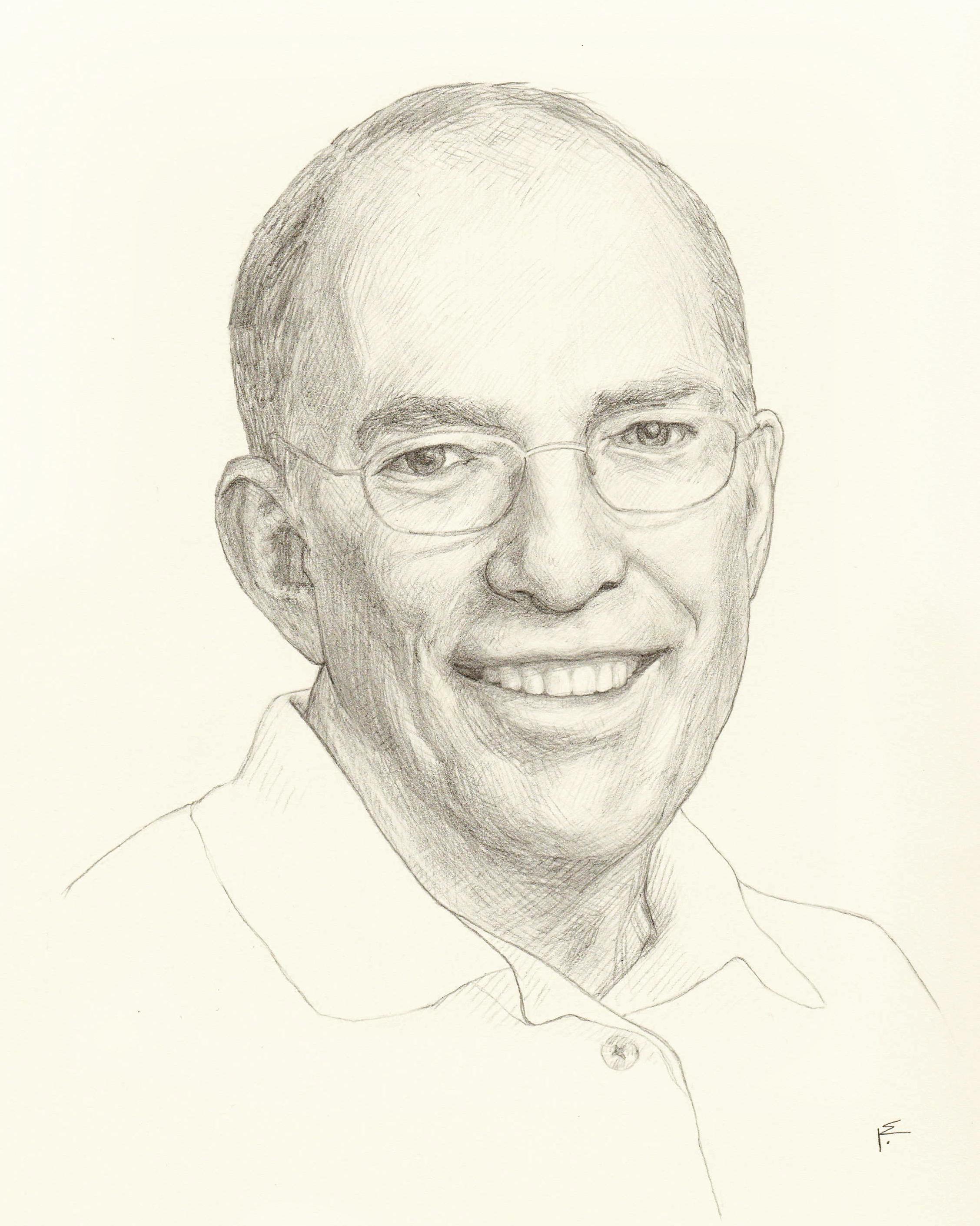 Harold, Graphite on Paper