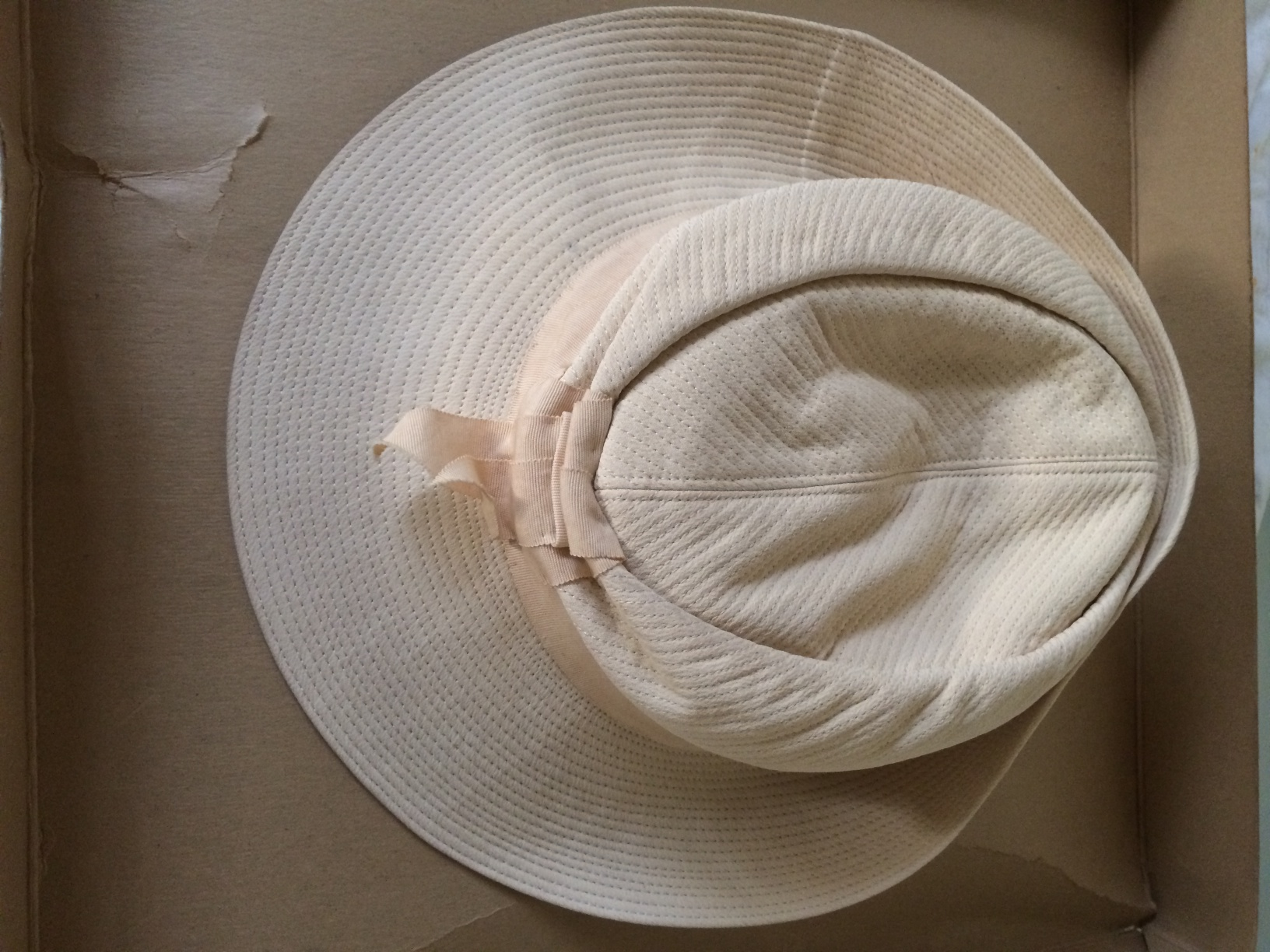 NRA Off White Cotton Hat