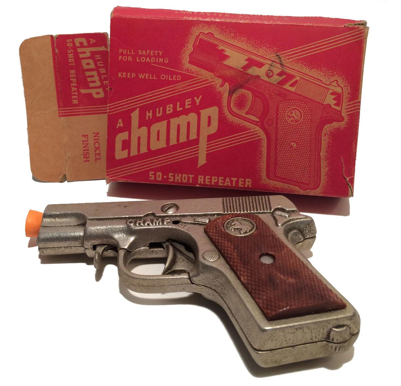 hubleychampcastironpistol