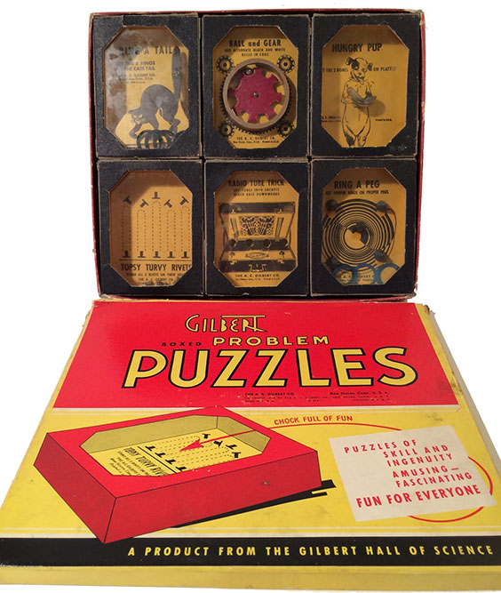 1940 Gilbert Boxed Problem Puzzle Games