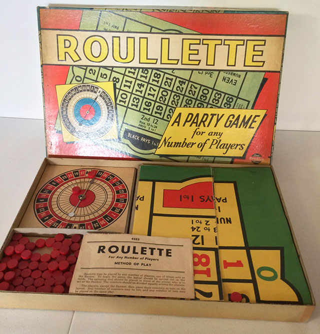 1939 Milton Bradley Roulette