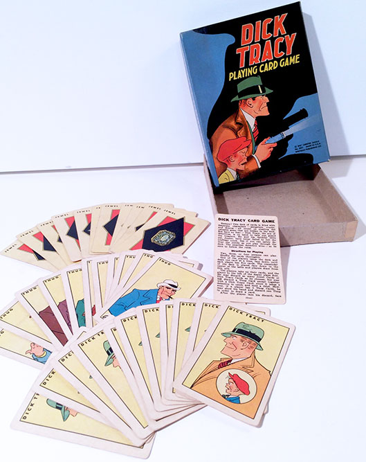 1937 Dick Tracy Playing Card Game