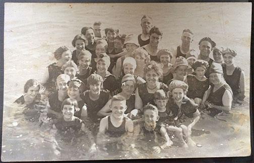 1917 Saltair Beach