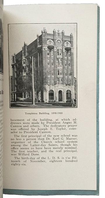 Templeton Building 1898-1900