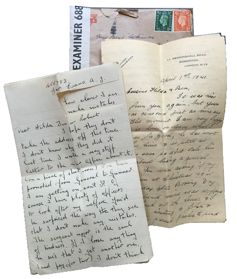 World-war-II-letter-from-uk-1941