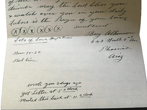 1926lettersignature