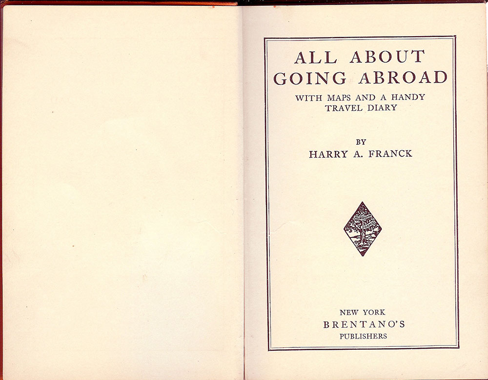 All About Going Abroad - Title Page
