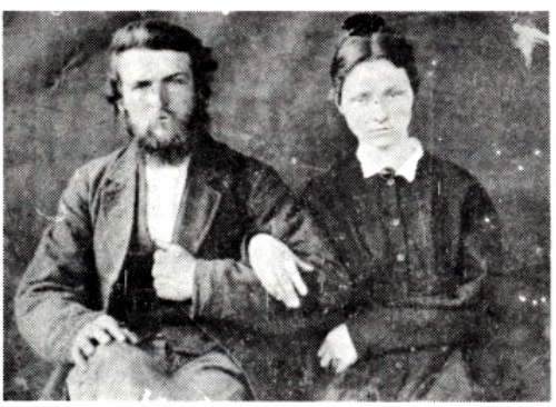 James Guthrie Smith & Harriet Matheny (found on Ancestry)