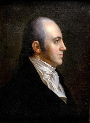 Portrait of Aaron Burr 1802. by John Vanderlyn