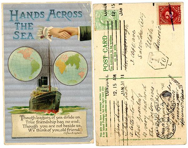 1911HandsAcrossTheSea-postcard