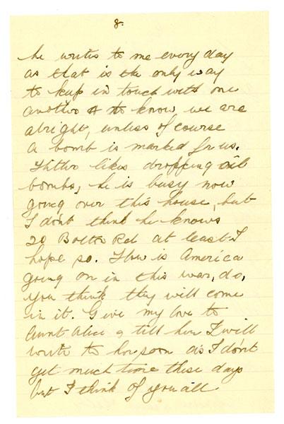 1940-World-War-II-Letter