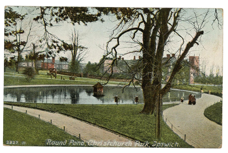 1908 Round Pond, Christchurch Park, Ipswich