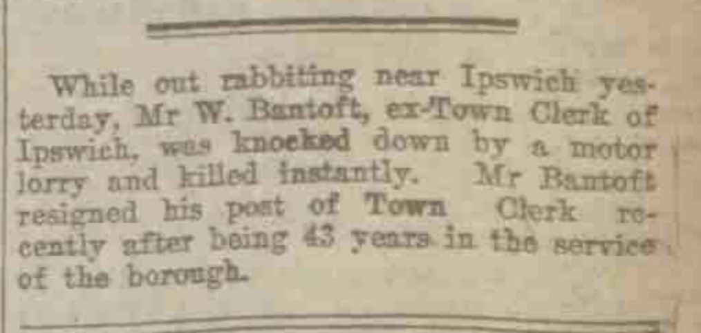 Source: Aberdeen Press and Journal Friday October 30, 1925 via  The British Newspaper Archive