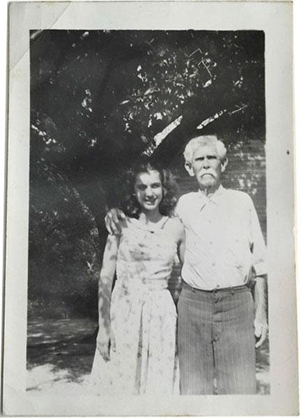 1940s Virginia Roberts & Robert Huebotter