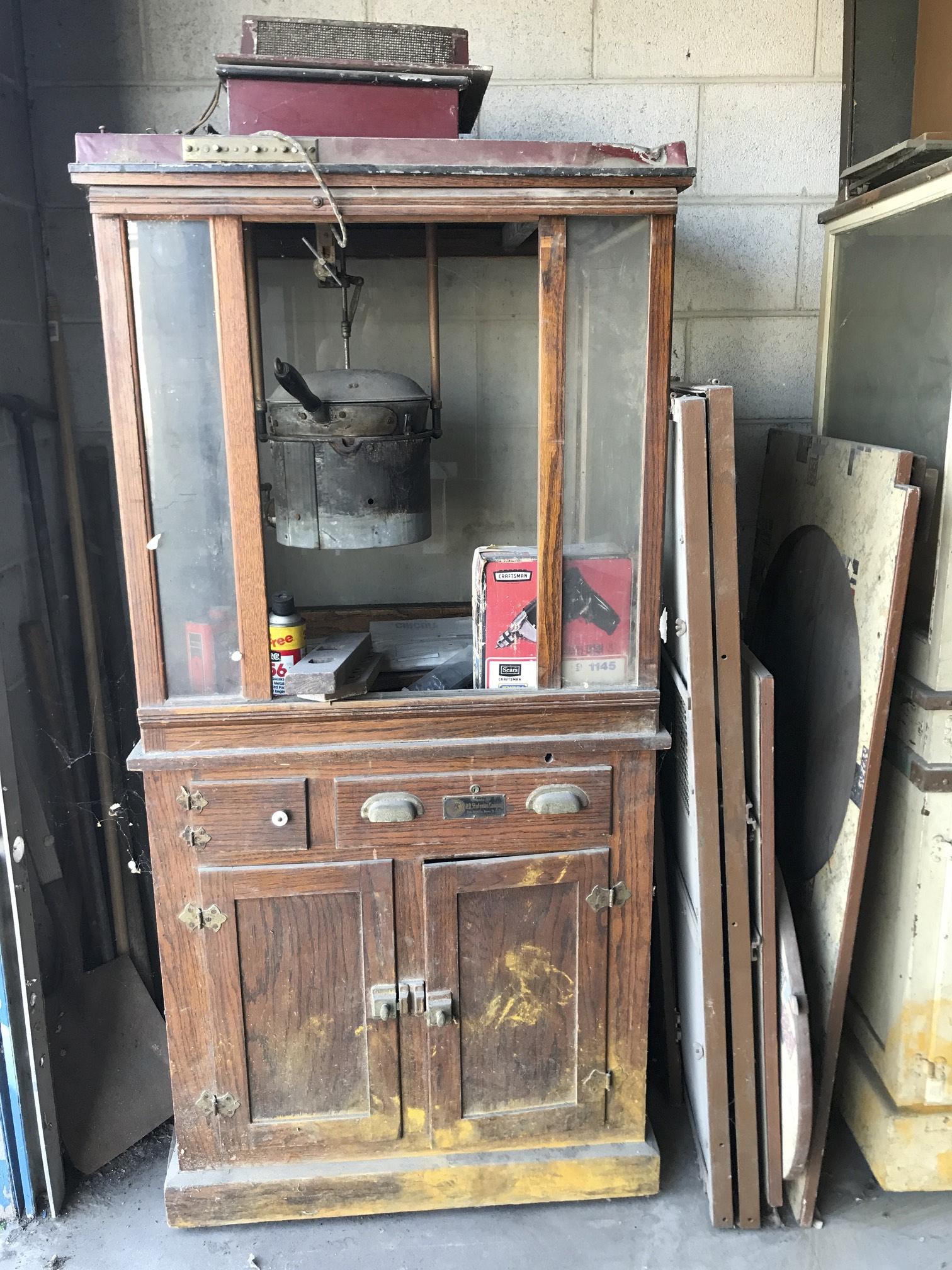 (1) RO Stutsman Popcorn Cabinet