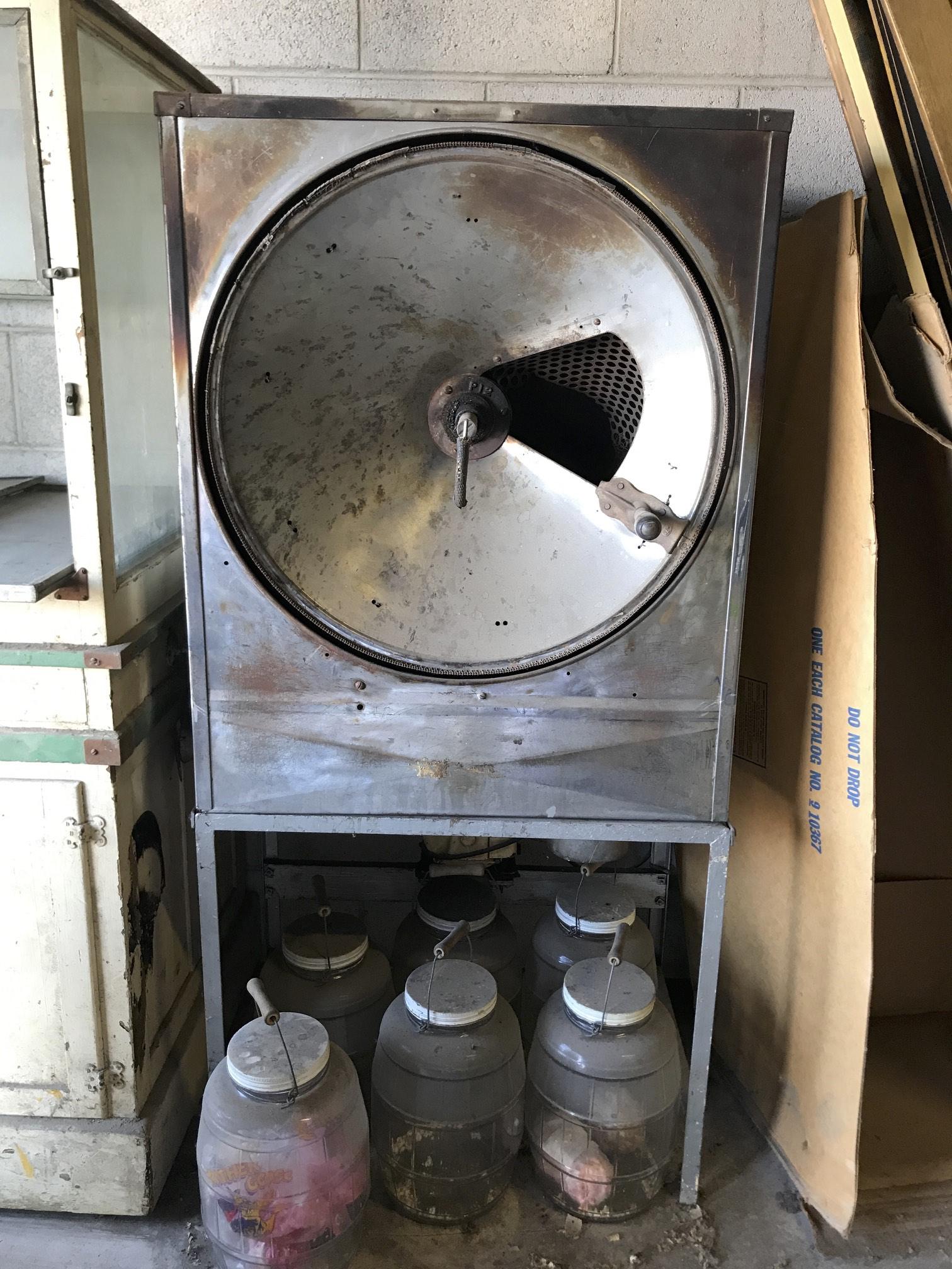 (4) popcorn equipment
