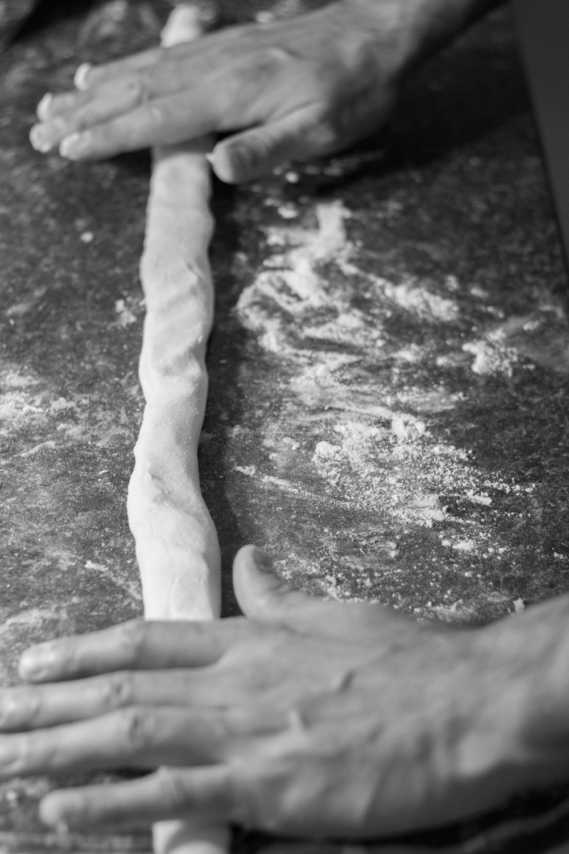 Gnocchi with Italian Sausage, Leek & Gorgonzola Cheese Sauce