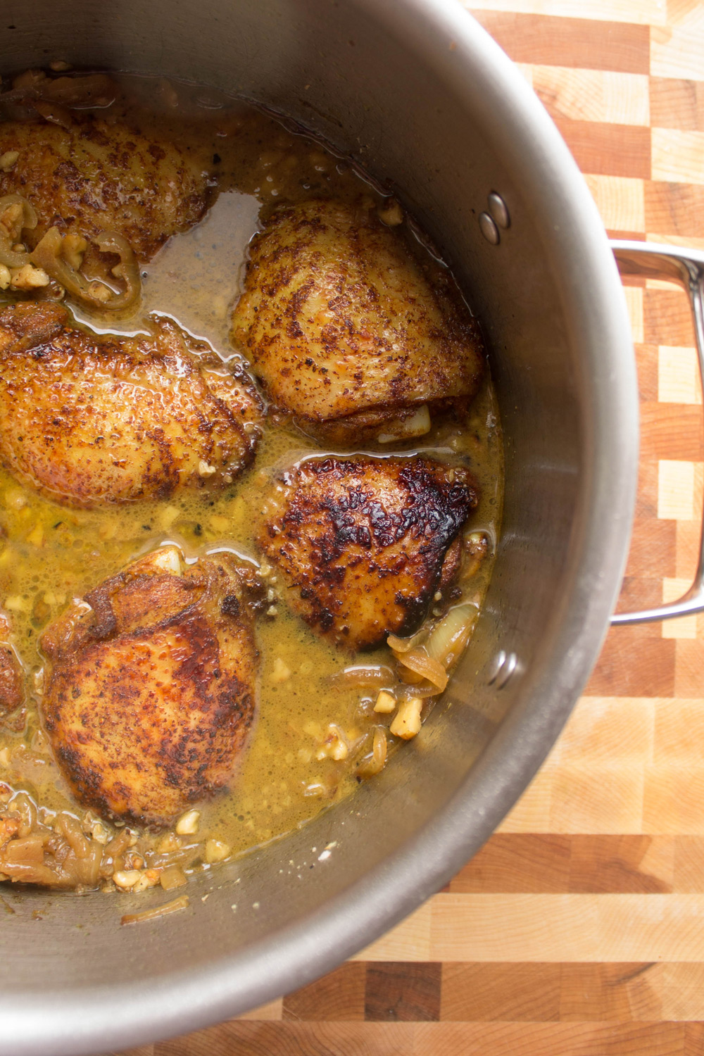 Easy, One-pot Persian Chicken