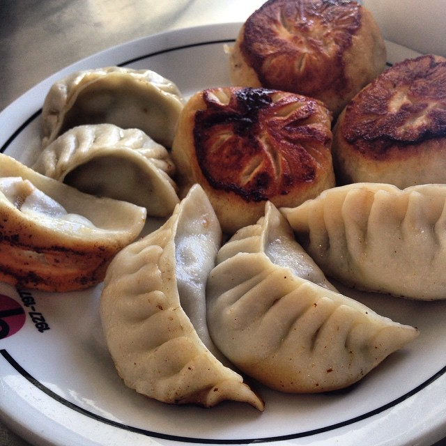 Sunday dumplings for the win! #yegfood #tasteab