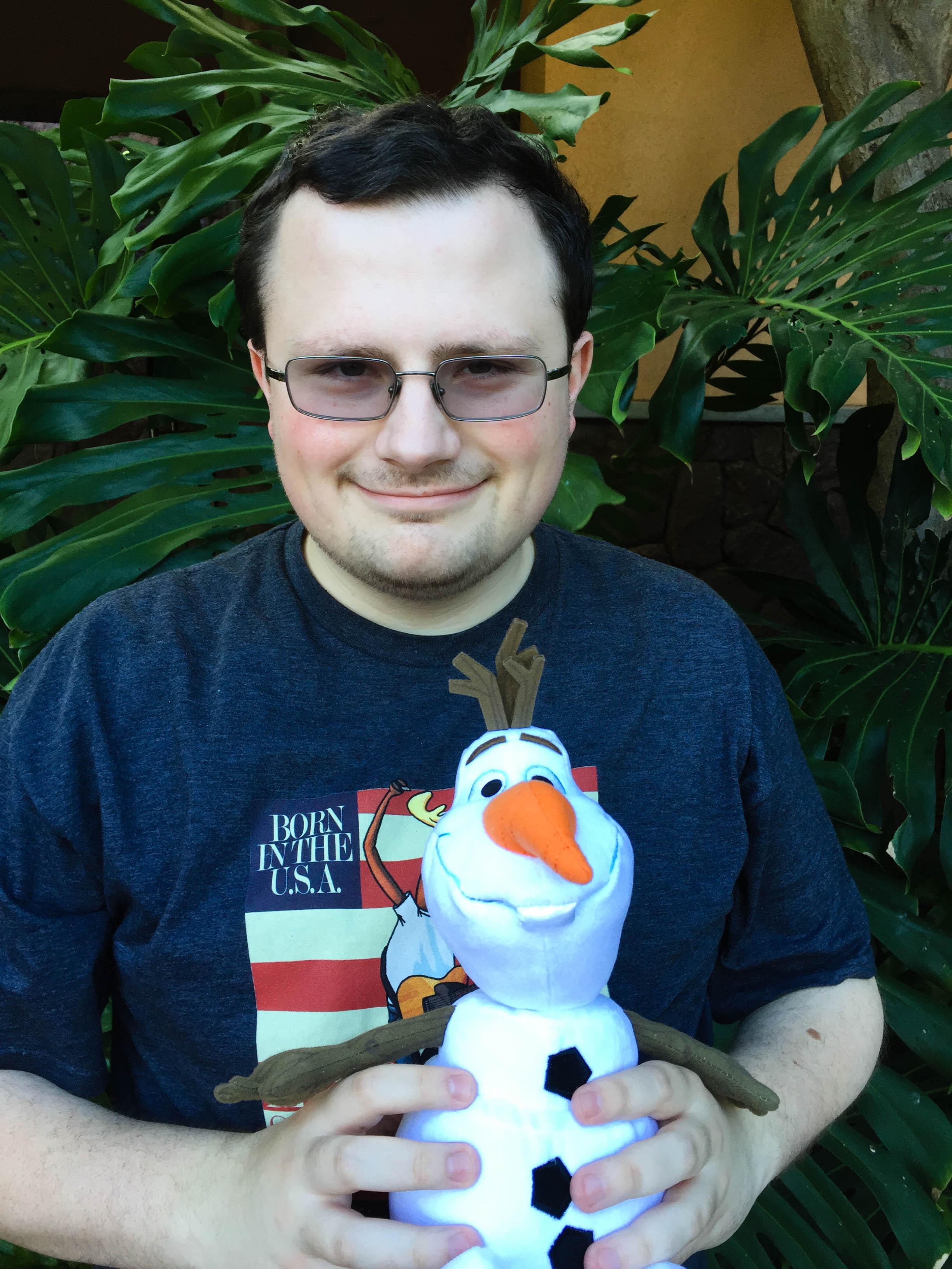 Olaf was in Hawaii!