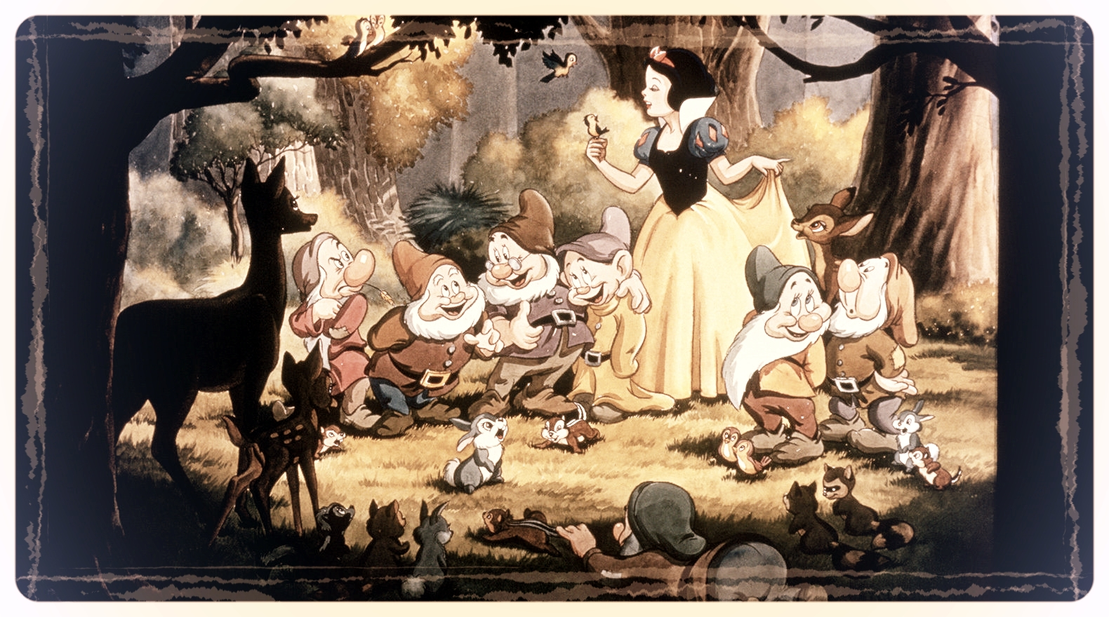 picture from the  Disney Snow White photo gallery