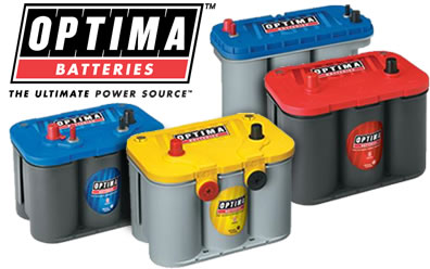 OPTIMA BATTERIES - THE ULTIMATE POWER SOURCE